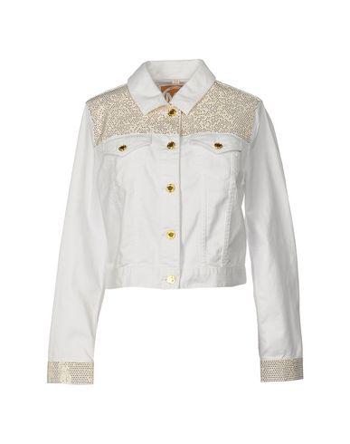 Michael Michael Kors Denim Outerwear In White
