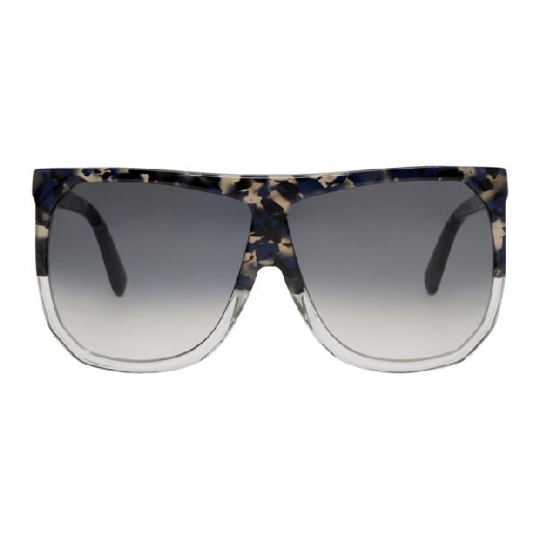 Loewe Multicolor Filipa Sunglasses In 56B Grey