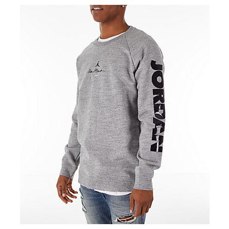9409e5e3ddb33e Nike Men s Jordan Sportswear Legacy Aj11 Fleece Crewneck Sweatshirt ...