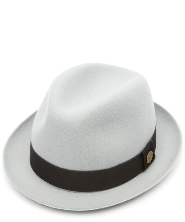 7ed964ac055 Christys' Hats Winchester Wool Felt Trilby Hat In Ice Grey | ModeSens