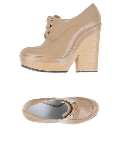 Jil Sander Laced Shoes In Beige