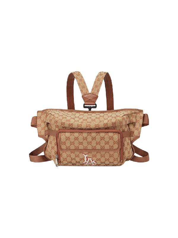 c6c2b770415c97 Gucci Belt Bag With La Angels™ Patch In Neutrals | ModeSens