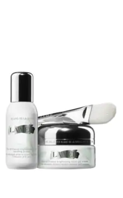 La Mer The Brilliance Brightening Mask & Primer Set In Colorless