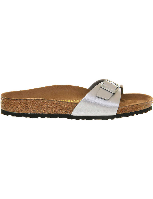 Birkenstock Madrid Magic Galaxy Slide Sandals, Silver