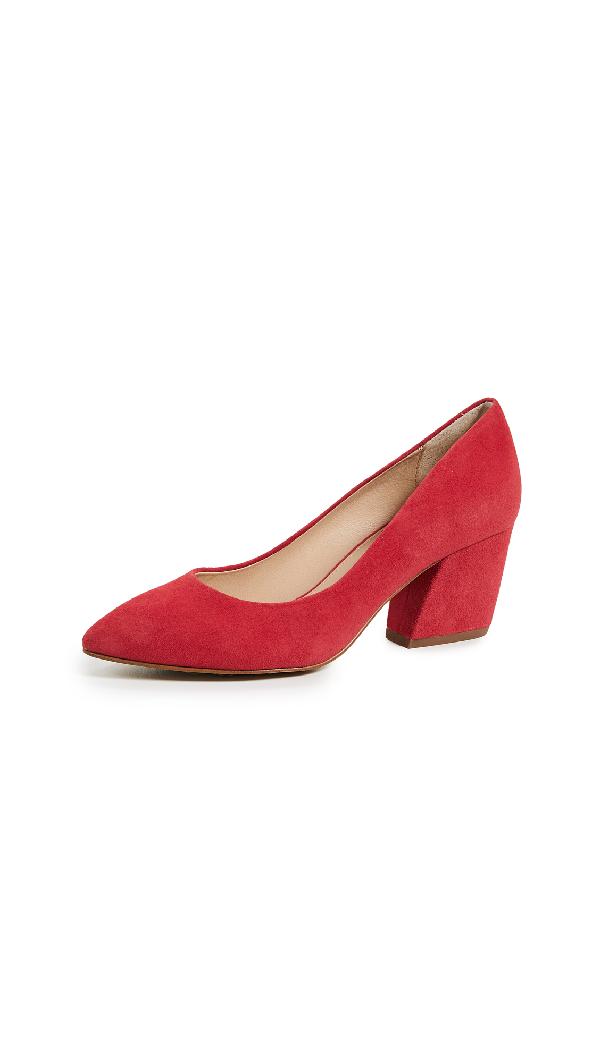 d2d71f123 Botkier Stella Block Heel Pumps In Red Carpet | ModeSens