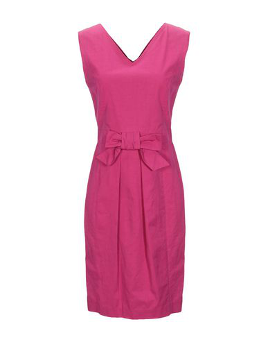 Moschino Cheap And Chic Short Dress In Mauve