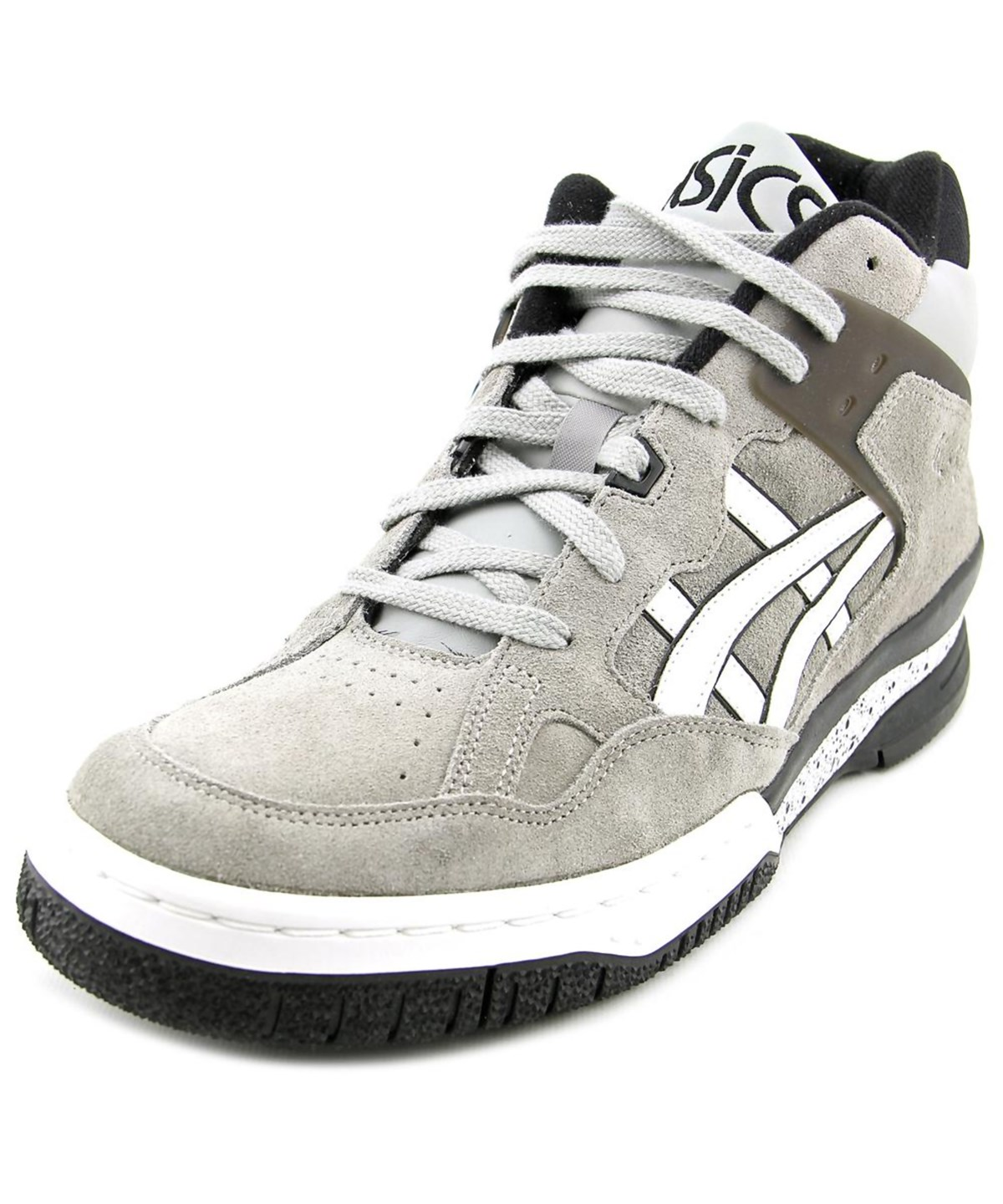 chaussures de sport 7d845 7eb57 Asics Gel-Spotlyte Men Round Toe Leather Gray Sneakers' in Grey