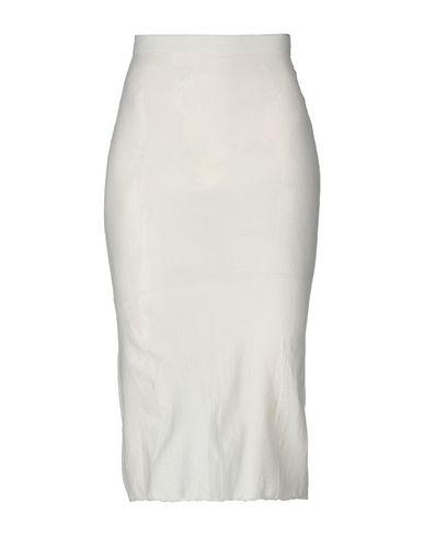 Marc Le Bihan Midi Skirts In White