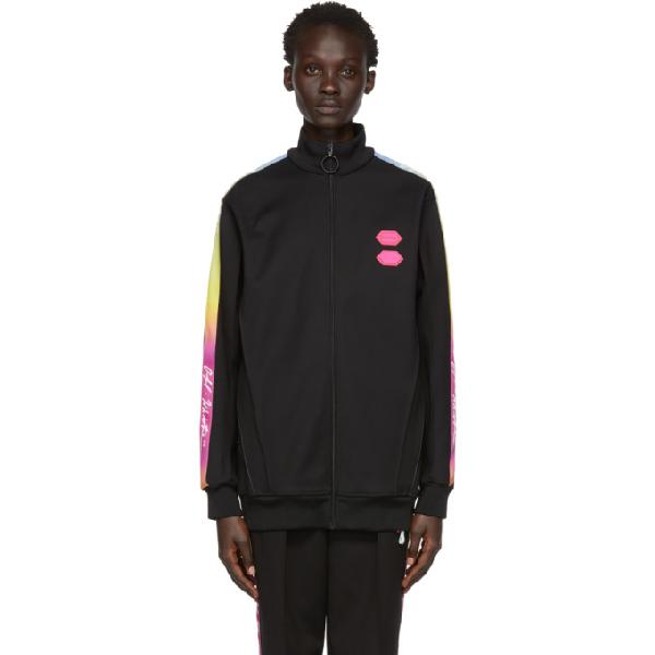 offwhite black logo tape track jacket modesens