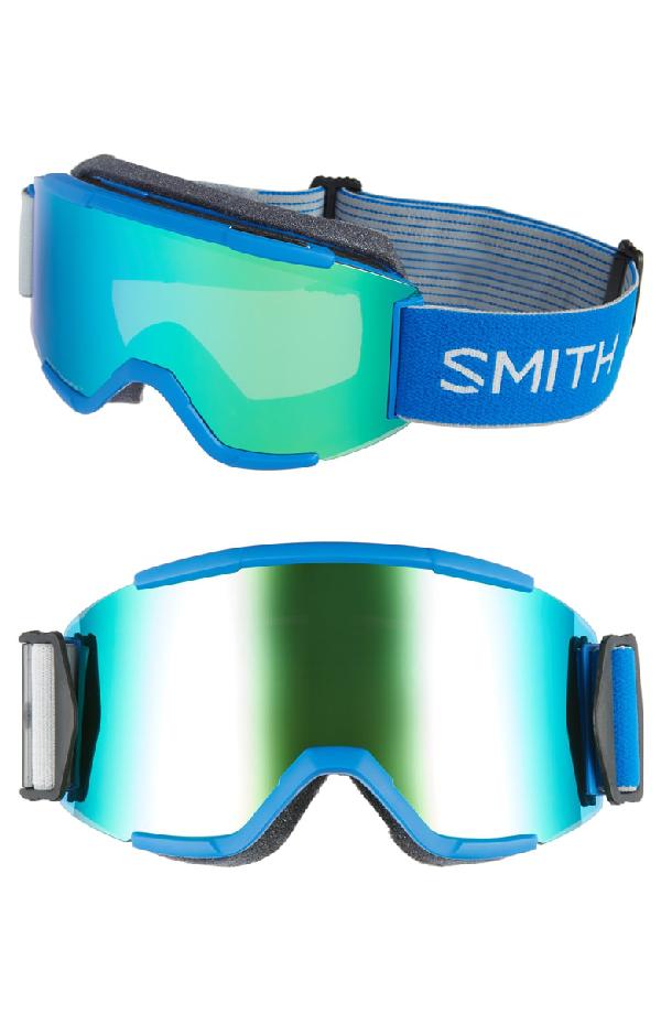 4a720b9a437 Smith Squad Chromapop 165Mm Snow Goggles - Imperial Blue