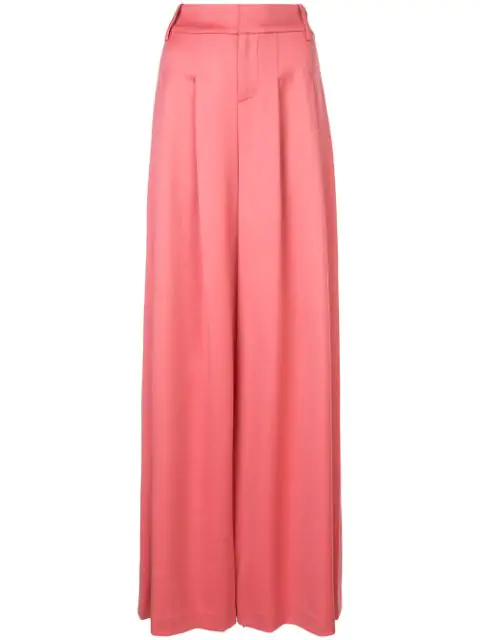 Alice And Olivia Alice+Olivia Scarlet Wide Leg Trousers - Pink