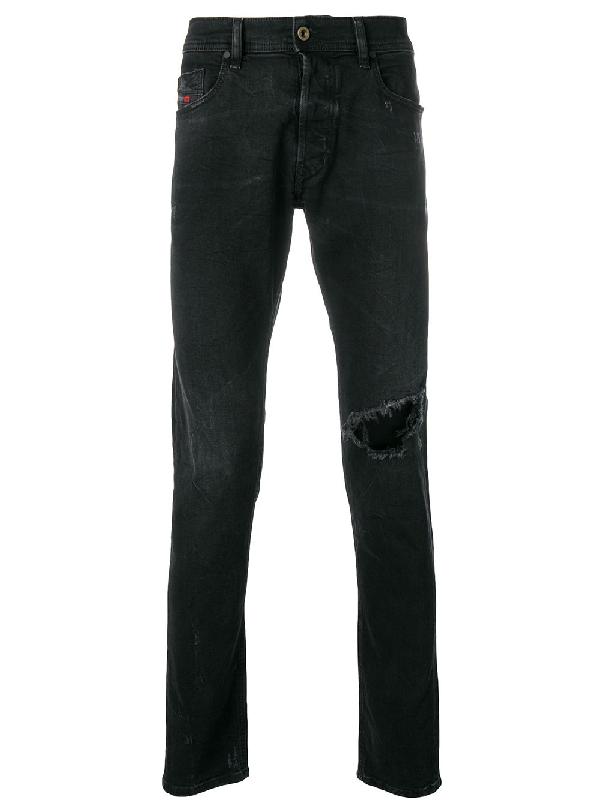 2b08739fb1e50a Diesel Tepphar Slim Jeans - Black | ModeSens
