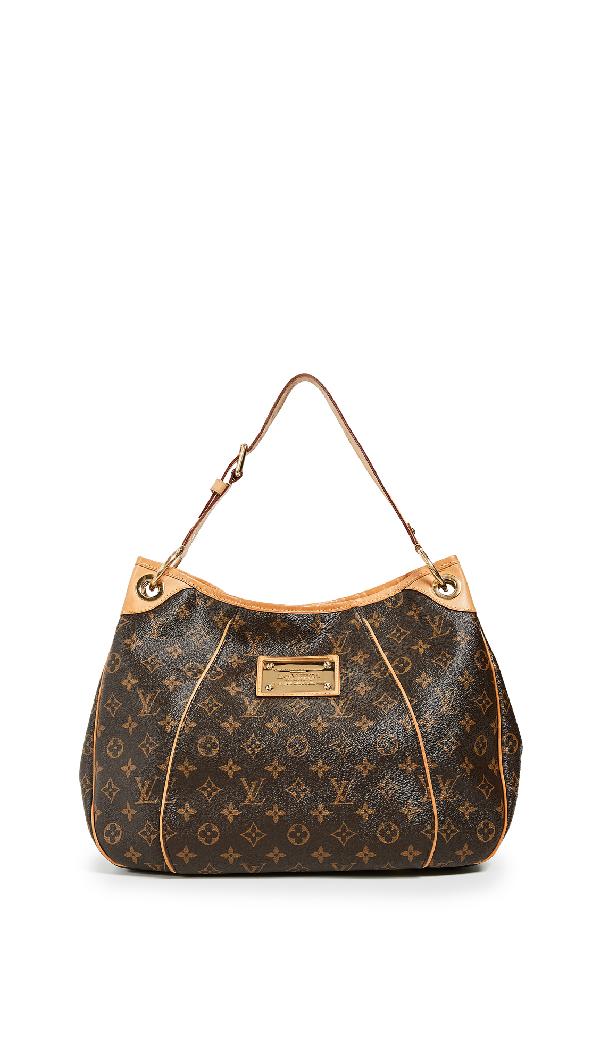 1dd9ae533f55 What Goes Around Comes Around Louis Vuitton Monogram Galleria Gm Bag In  Brown