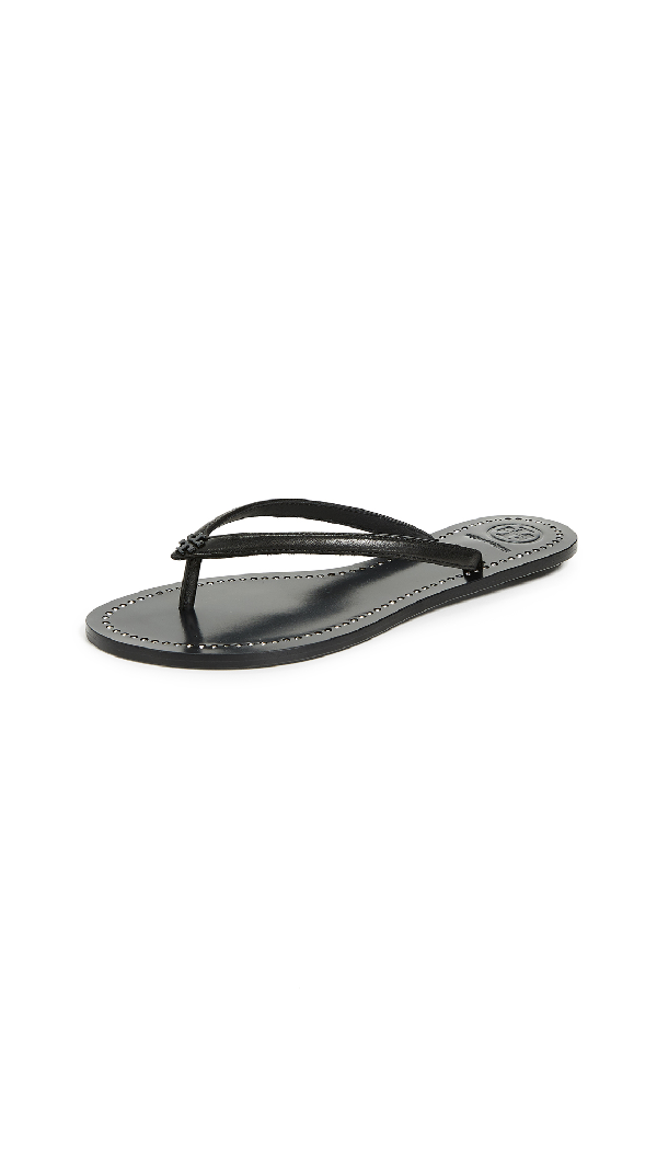 a4f5bdf9734 Tory Burch Liana Thong Sandals In Perfect Black