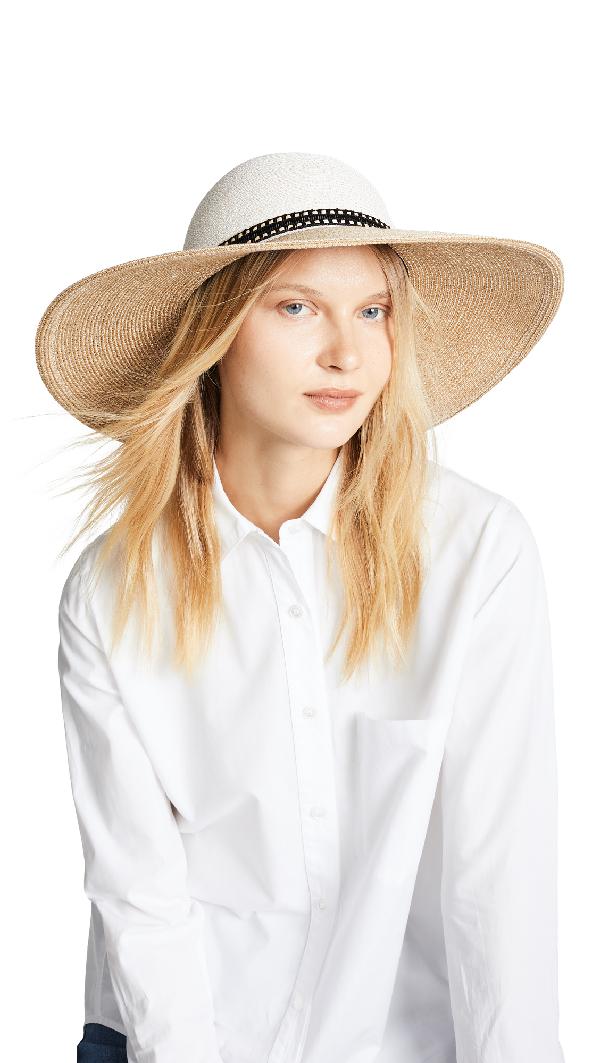 2fc59db9a612c Eugenia Kim Honey Hat In Bone Sand