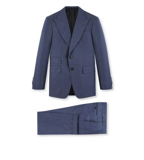 Tom Ford Navy Prince Of Wales O'Connor Suit