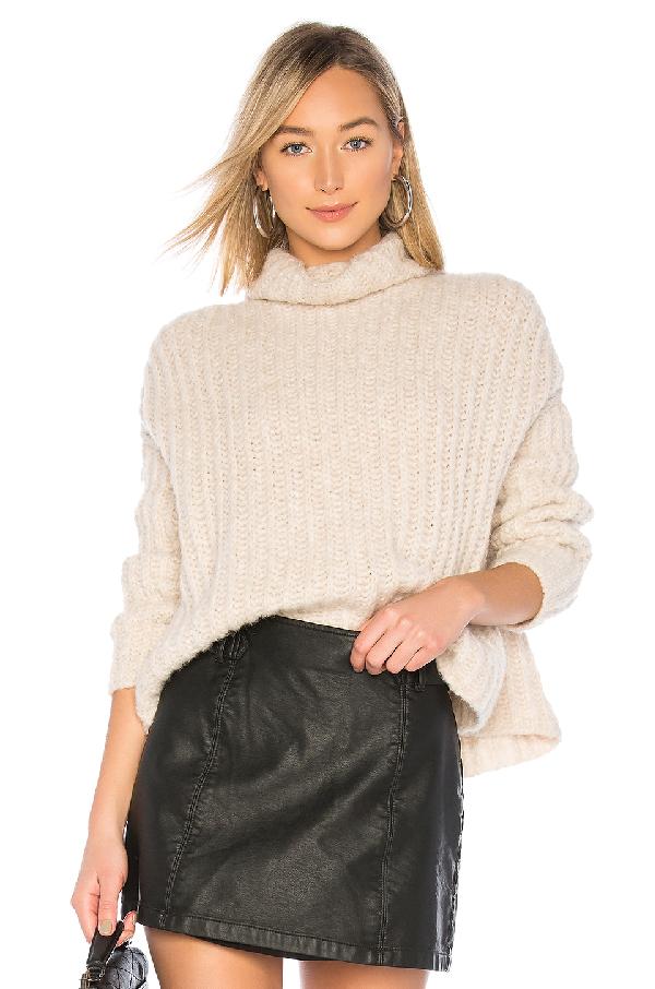 7306fdd3833 Free People Boxy Turtleneck Sweater In Pearl | ModeSens
