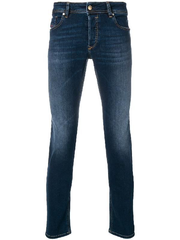 1103fc03679c00 Diesel Men's Sleenker Skinny Jeans, Blue | ModeSens