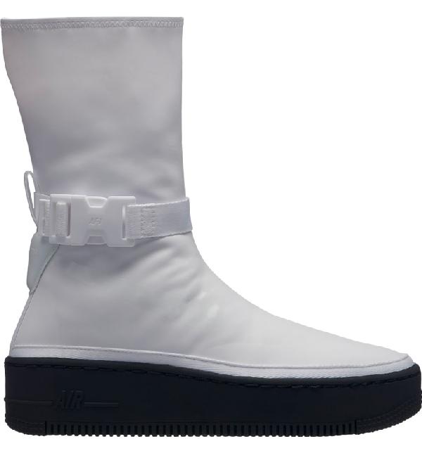 Black Force High Air White 1 Sneaker Platform In Sage 0P8wkOXn
