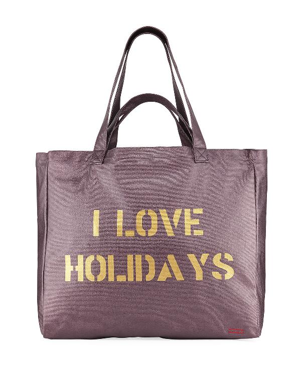 4b26b8b1afc0 Oversize Canvas Shopper Tote Bag, Burgundy