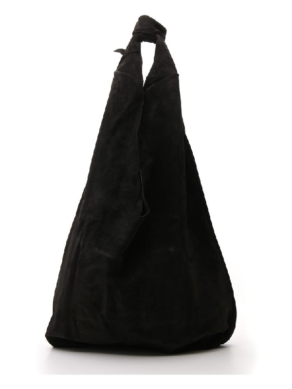 The Row Knot Shoulder Bag In Black