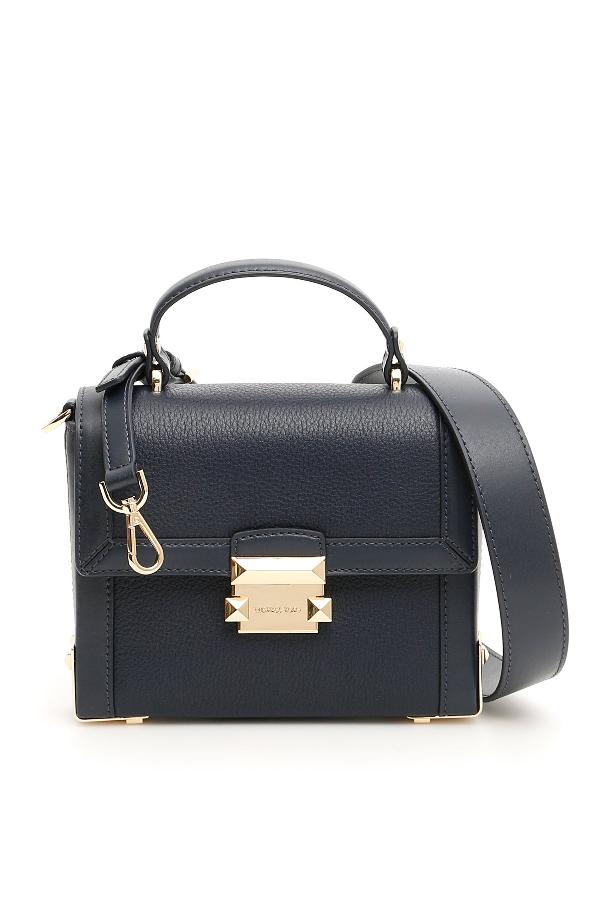 bead9b62e78 Michael Michael Kors Jayne Small Trunk Bag In Black | ModeSens