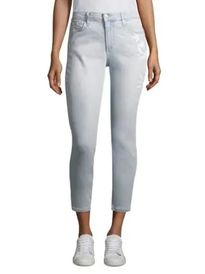 Joe's Jeans Embroidered Jeans In Alyce