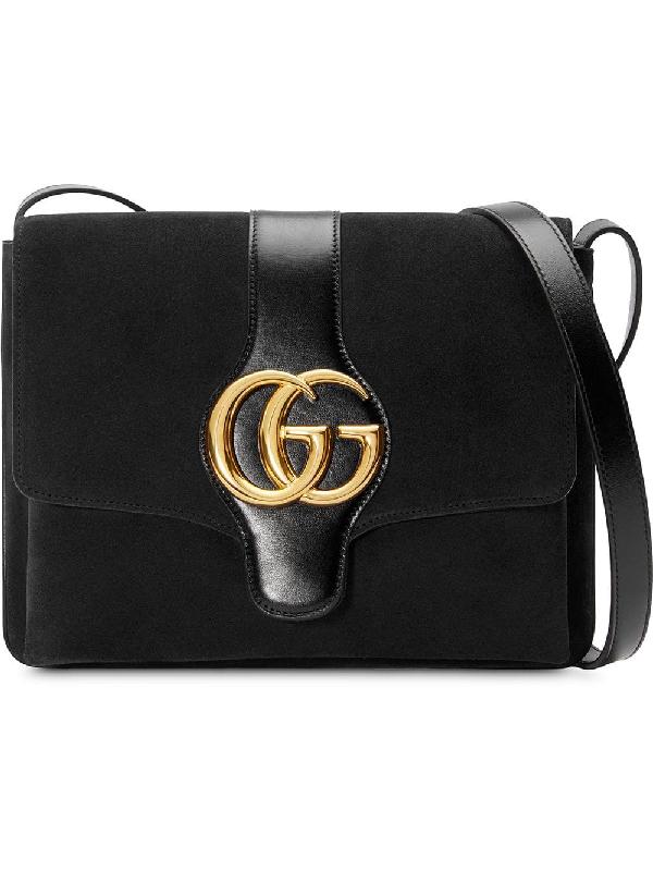 b5eb028ce5765c Gucci Arli Medium Shoulder Bag - Black | ModeSens