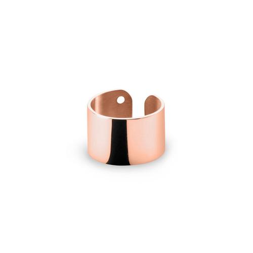 Ekria Timeless Tres Midi Ring Shiny Rose Gold