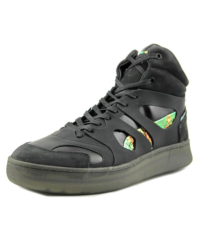 brand new 7c21b 59378 Alexander Mcqueen By Puma Mcq Move Mid Men Leather Black Basketball Shoe'