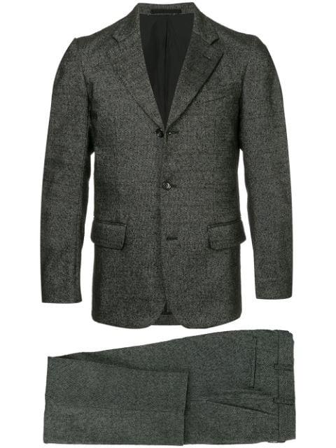 Pre-owned Comme Des Garçons Notched Lapel Suit In Grey