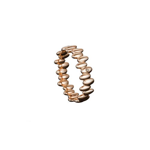 Julien Riad Sahyoun Skinny Ring In Rose Gold