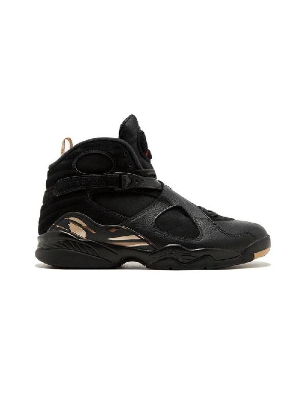 sports shoes 36334 d81ad Jordan Air 8 Retro Ovo Sneakers - Black