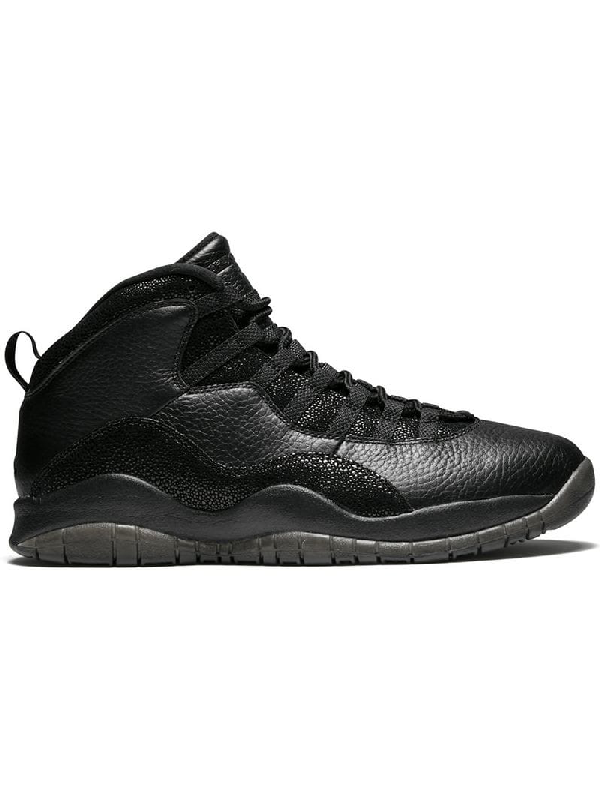 promo code a75f4 473e5 Jordan Air 10 Retro Ovo Sneakers - Black