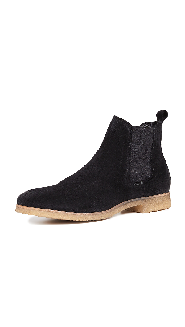 79459328f29 Kelvin Suede Crepe Sole Boots in Black