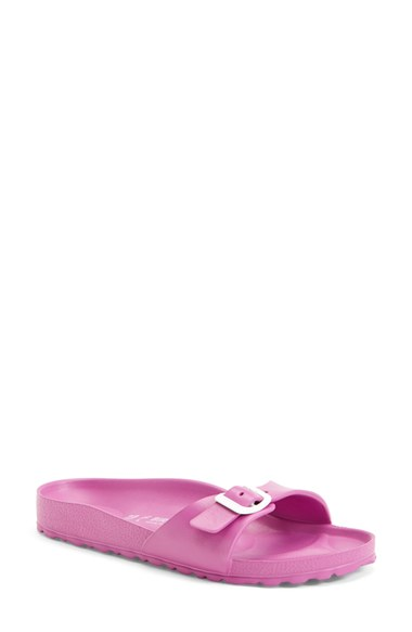 Birkenstock 'Essentials - Madrid' Slide Sandal (Women) In Pink