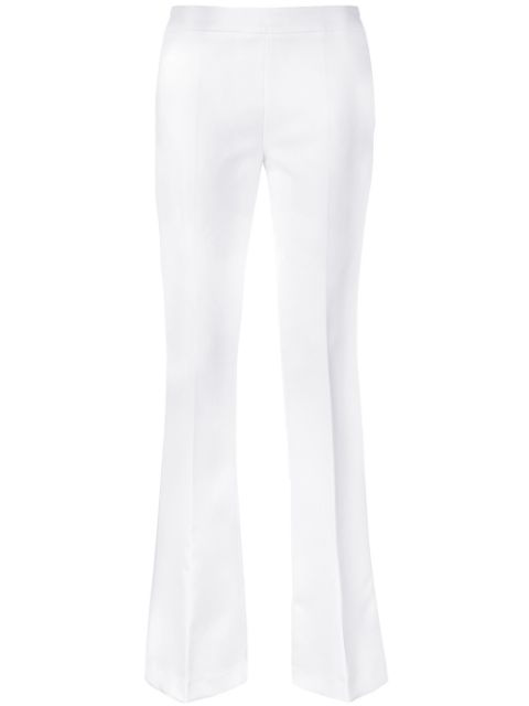 Blanca Flared Trousers In White