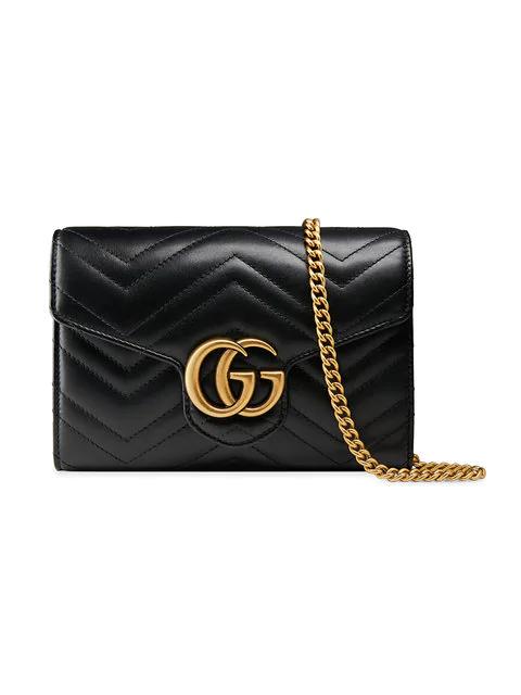 0a5eaefcb0bac Gucci Mini  Gg Marmont  Schultertasche - Schwarz In Black