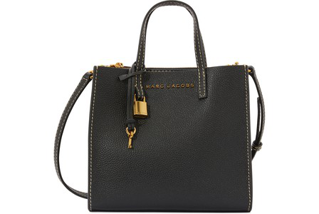 Marc Jacobs The Grind Mini Colorblock Leather Tote - Black