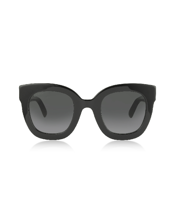 b87704188ad45 Gucci Rectangle Acetate Gg Sunglasses W  Crystal Stars