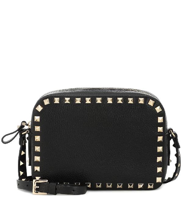 4e2359584 Valentino Rockstud Camera Crossbody Bag Black | ModeSens