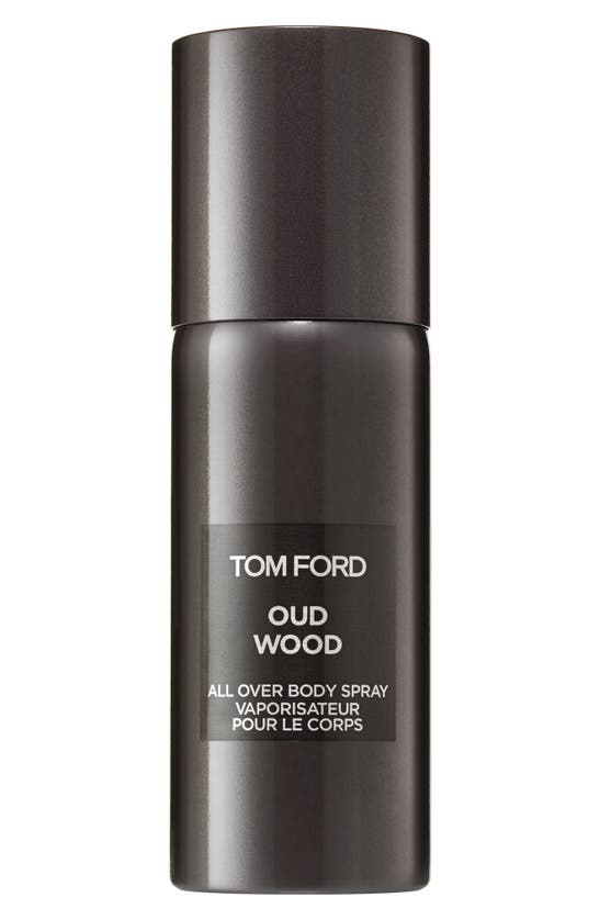 Tom Ford Oud Wood All Over Body Spray Spray 5 oz/ 150 ml In White