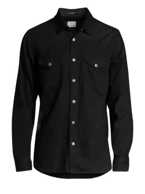 Ksubi De Nimes Denim Shirt In Black