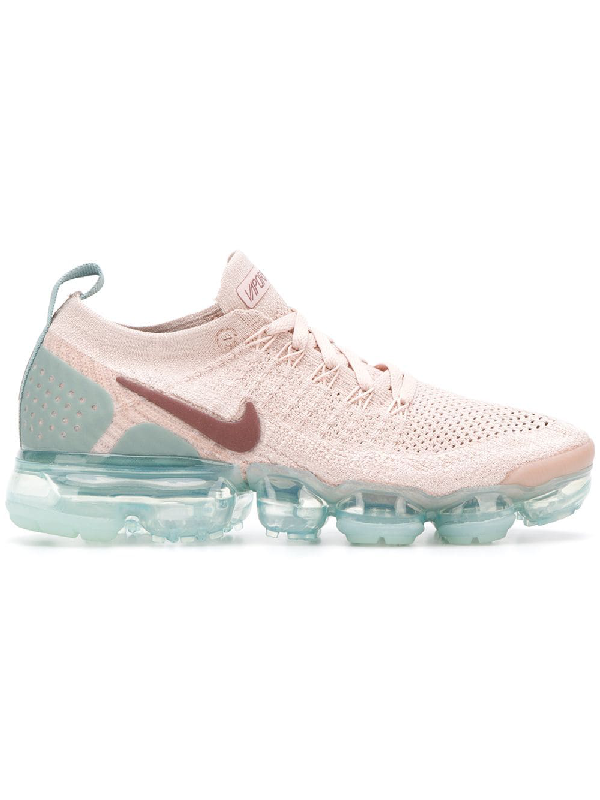 a668f3bf5fa83 Nike Air Vapormax Flyknit Moc Sneakers - Pink