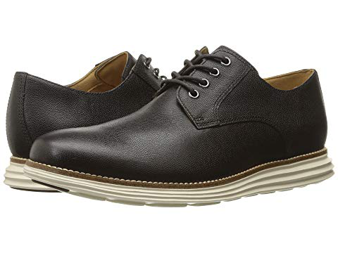 1ba1e178752 Cole Haan Original Grand Plain Toe, Dark Roast Leather/Ivory | ModeSens