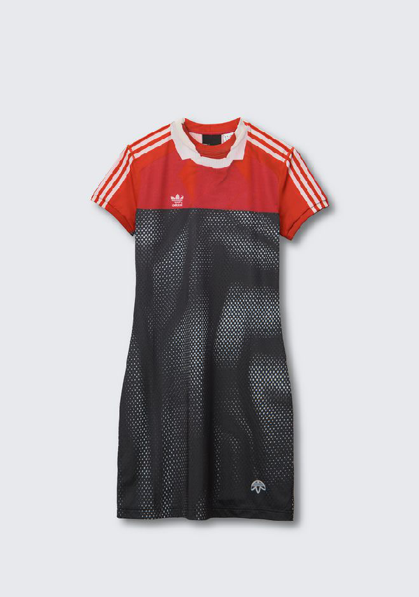 1aa6ea47d Alexander Wang Adidas Originals By Aw Photocopy Dress In Multicolor ...
