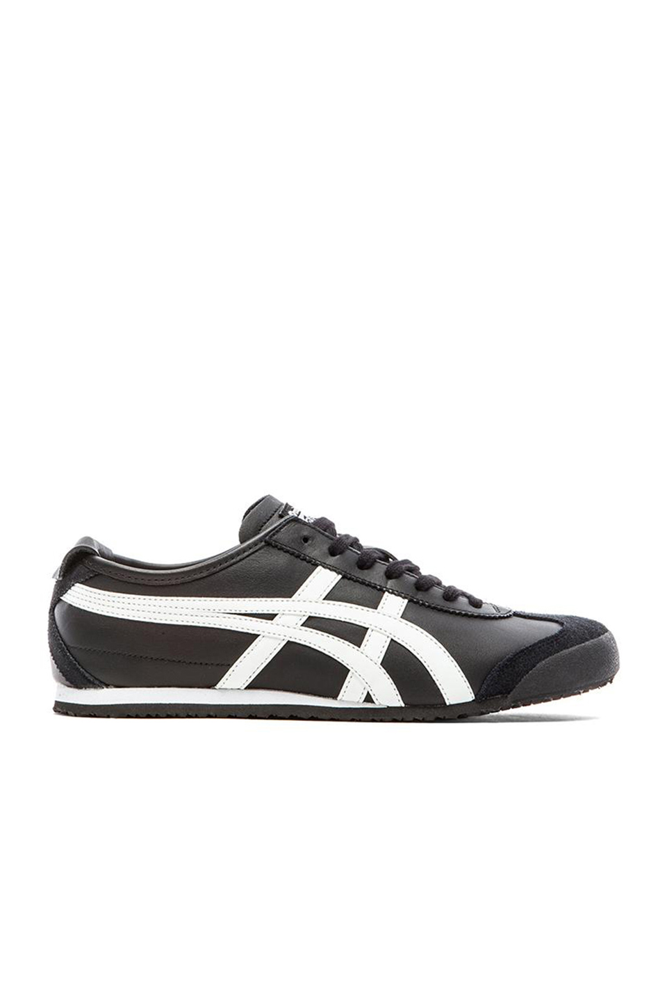 promo code a8a9a 11cc5 Mexico 66 Leather Trainers in Black White