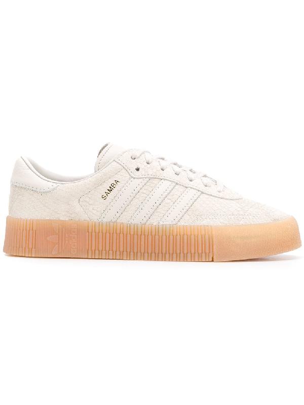 factory authentic ea3d5 6e421 ADIDAS ORIGINALS. Adidas Adidas Originals Sambarose Sneakers - Neutrals
