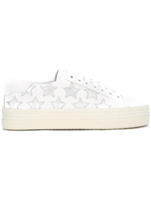 21aa1dc4a42 Saint Laurent Signature Court Classic Sl 39 California Platform Sneaker In Off  White Leather And