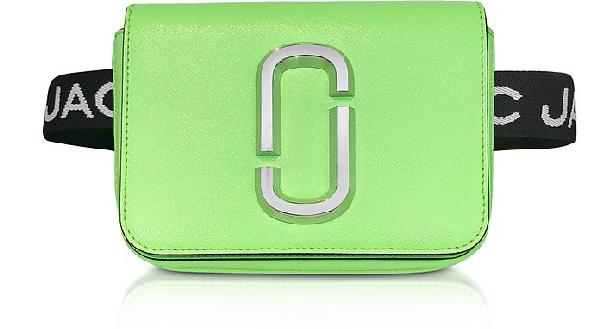 Marc Jacobs Hip Shot Convertible Crossbody Bag - Green In Bright Green
